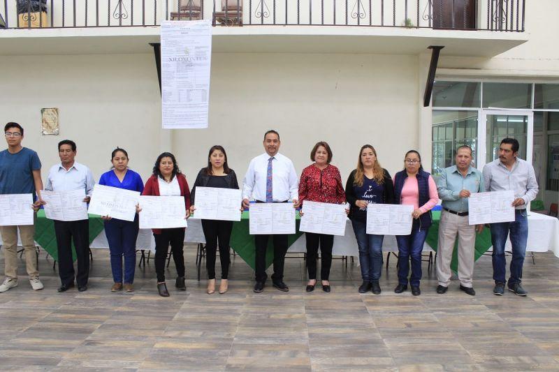 Presentan en Xiloxoxtla programas para el campo