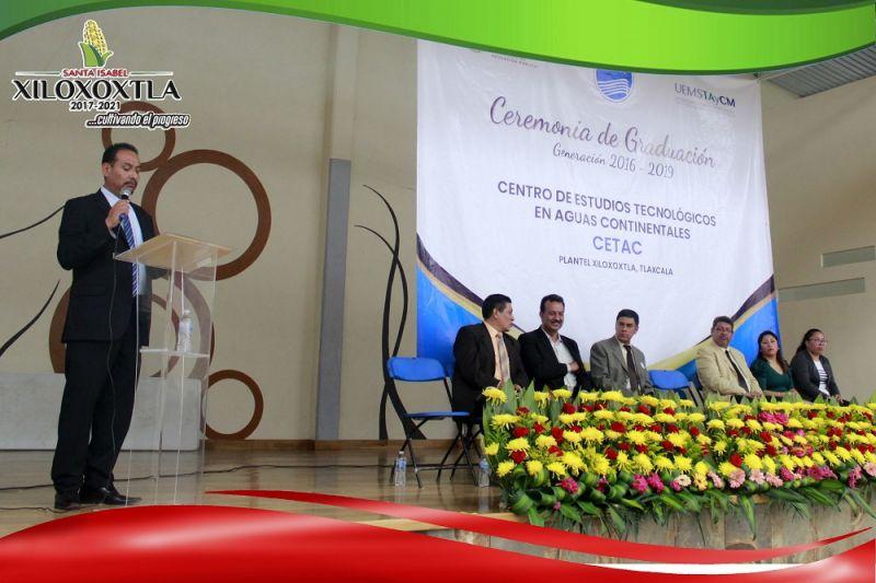 Ceremonia de graduación CETAC Xiloxoxtla
