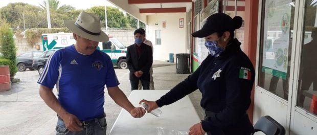 Se suma Gobierno de Xiloxoxtla a medidas preventivas por COVID-19