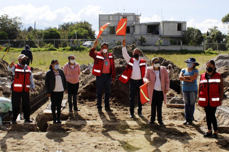 Logra alcalde de Xiloxoxtla Jaime Pérez Juárez, la gestión de 2 aulas en la primaria Melchor Ocampo